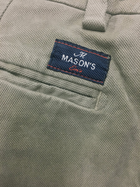 Mason's Brushed Cotton Canvas Pant - Frank Stella Clothiers