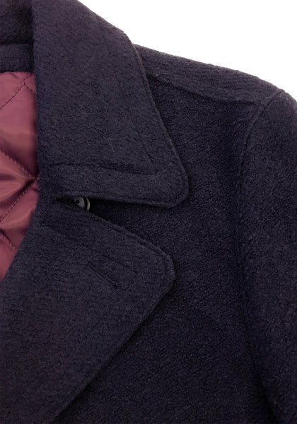 Frank Stella Clothiers Wool Blend Peacoat - Frank Stella Clothiers