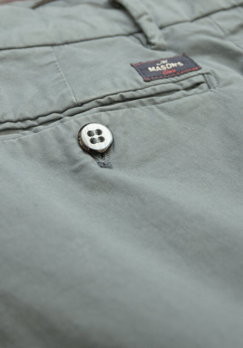 Washed Twill Cotton Pant