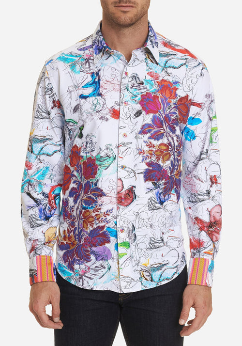 Robert Graham Petal to the Metal Sport Shirt - Frank Stella Clothiers