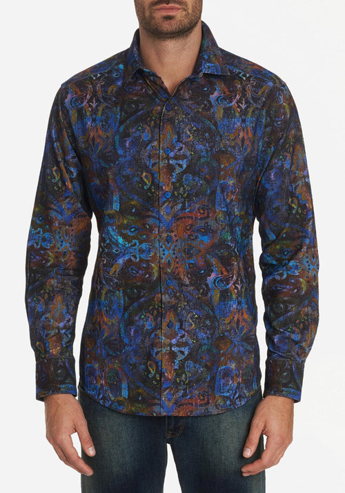Robert Graham Lucy Diamond Sport Shirt - Frank Stella Clothiers