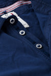 Relwen Solid Pique Slot-Button Polo - Frank Stella Clothiers