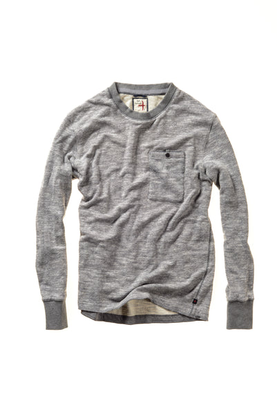 Relwen Windsurf Crew in Grey
