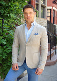 Frank Stella Soft Washed Linen Jacket - Frank Stella Clothiers