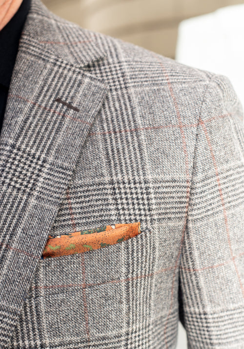 Frank Stella Grey Plaid Sport Coat - Frank Stella Clothiers