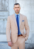 Frank Stella Tailored Fit Pure Cotton Suit - Frank Stella Clothiers