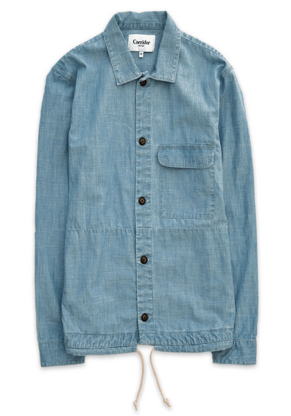 Corridor Washed Chambray Service Jacket - Frank Stella Clothiers