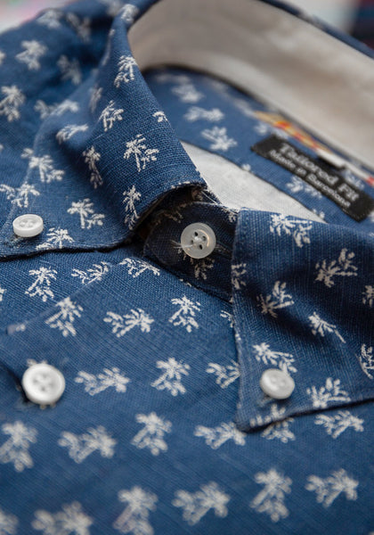 Palm Tree Sport Shirt