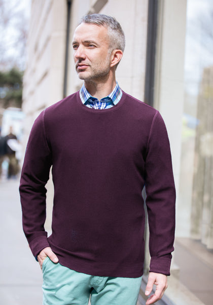 Lightweight Merino Crewneck Sweater
