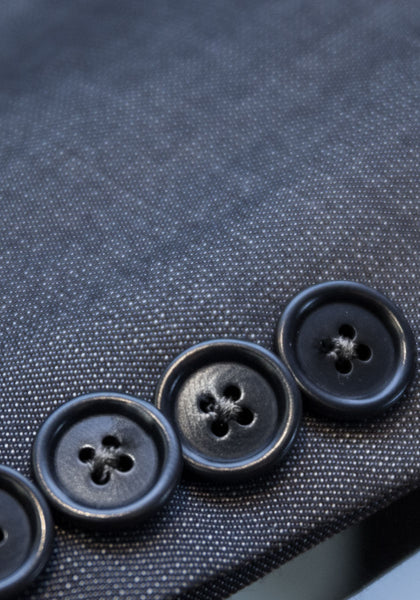 Tailored Fit Pin Dot Suit