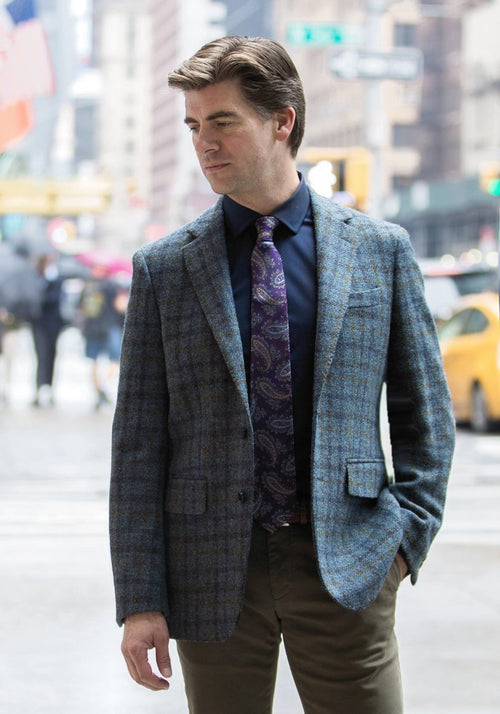 Frank Stella Harris Tweed Checks & Ticks Sport Coats - Frank Stella Clothiers