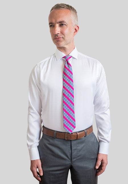Lilac Slim Fit Dress Shirt