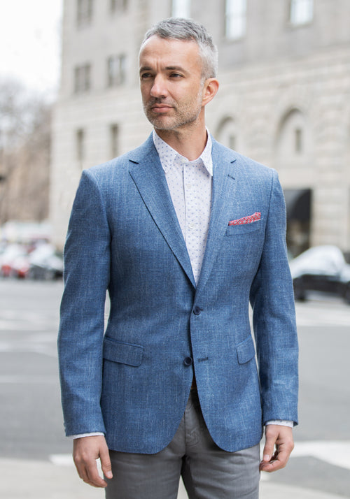 Light Blue Loro Piana Sport Coat