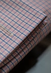 Pink Check French Cuff Dress Shirt