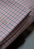 Frank Stella Pink Check French Cuff Dress Shirt - Frank Stella Clothiers
