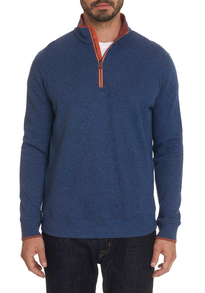 Robert Graham Garnet 1/4 Zip Knit - Frank Stella Clothiers