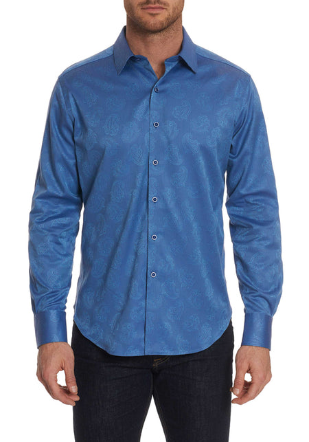 Royal Pattern Sport Shirt