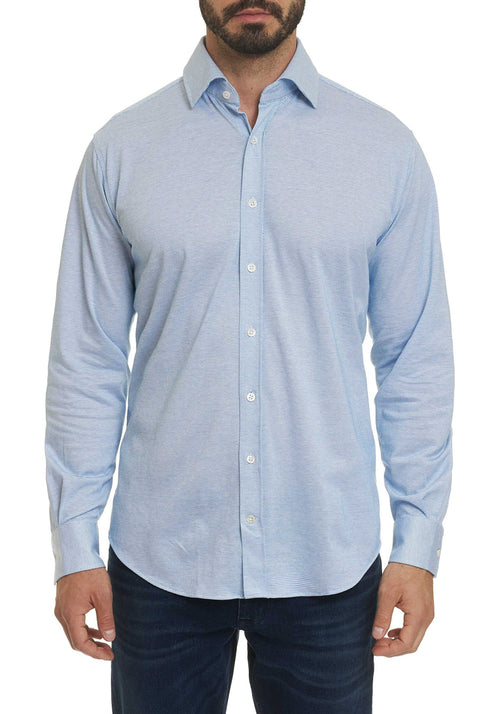 Robert Graham Lyells Knit Long Sleeve Shirt - Frank Stella Clothiers