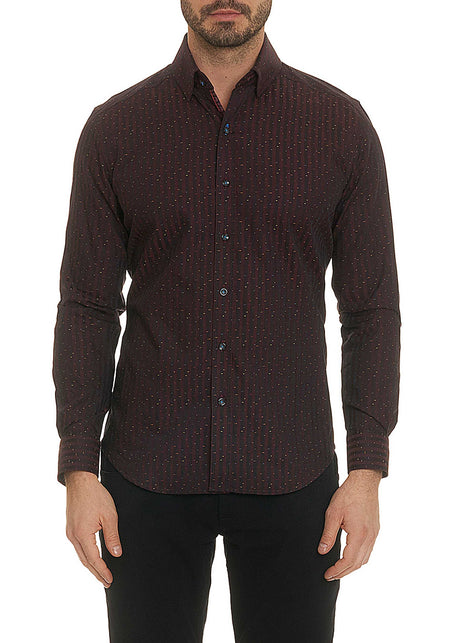 Purple Plaid Sport Shirt