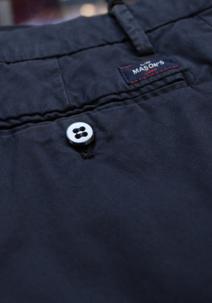 Mason's Washed Twill Cotton Pant - Frank Stella Clothiers