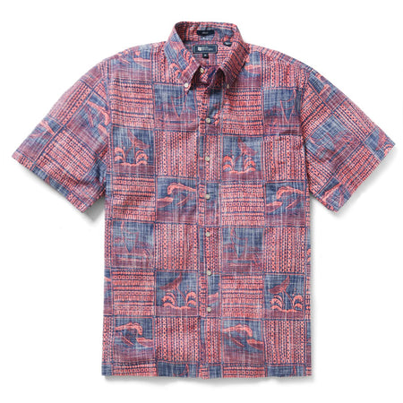 Seersucker Plaid Sport Shirt