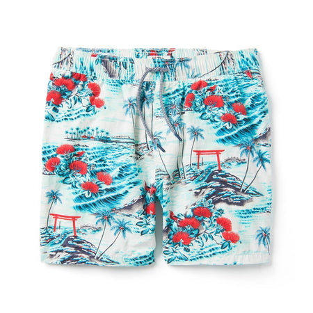 Solid Swim Trunks