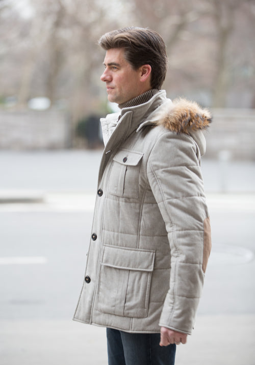 Quilted Ski Jacket