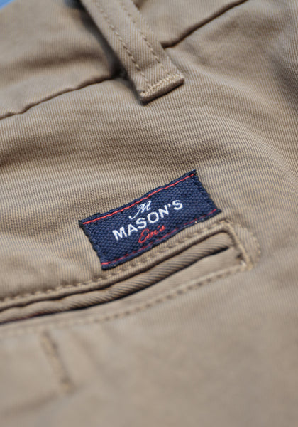 Mason's Brushed Cotton Twill Pant - Frank Stella Clothiers