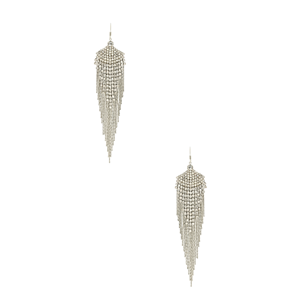 FEATHERED GEM EARRINGS