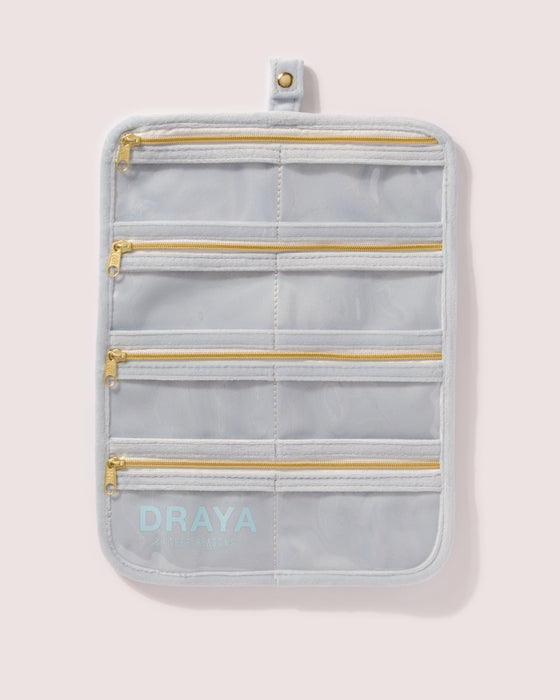 8OR X DRAYA JEWELRY TRAVELLER + TRAVEL POUCH