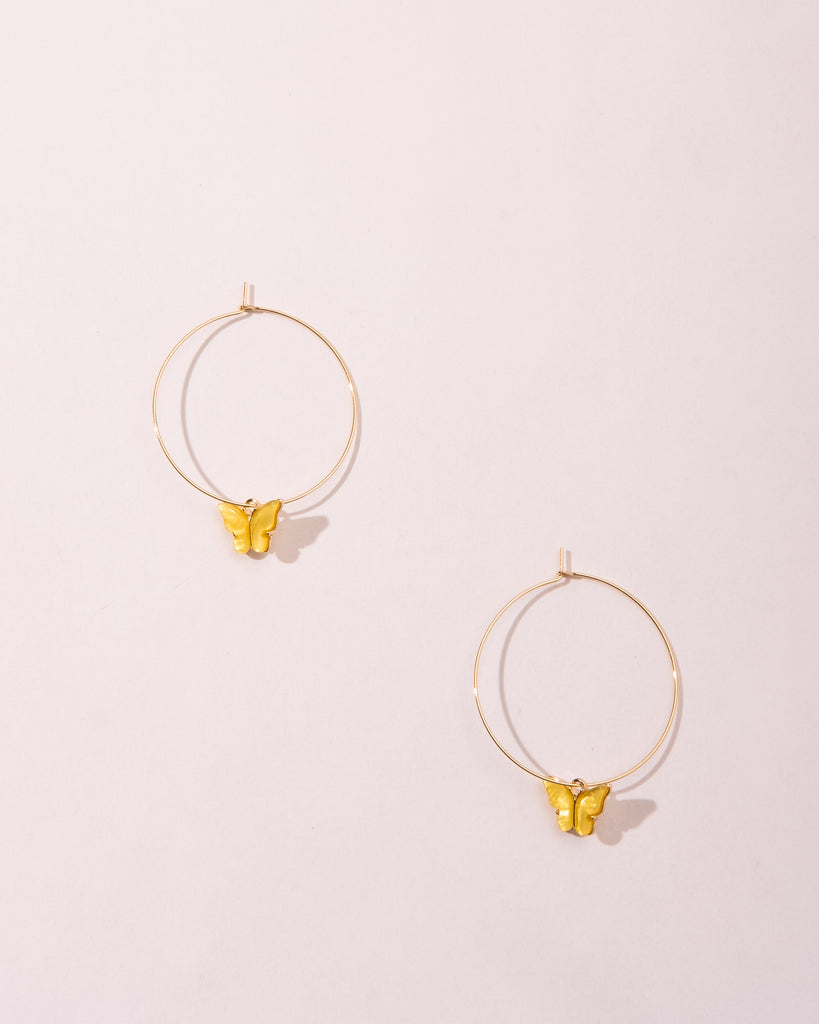 BUTTERCUP BABY HOOPS