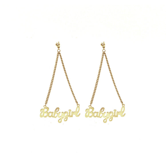 BABYGIRL STUDS - EARRING - 8 Other Reasons