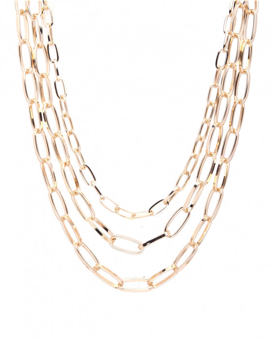 TRI-LAYERED NECKLACE