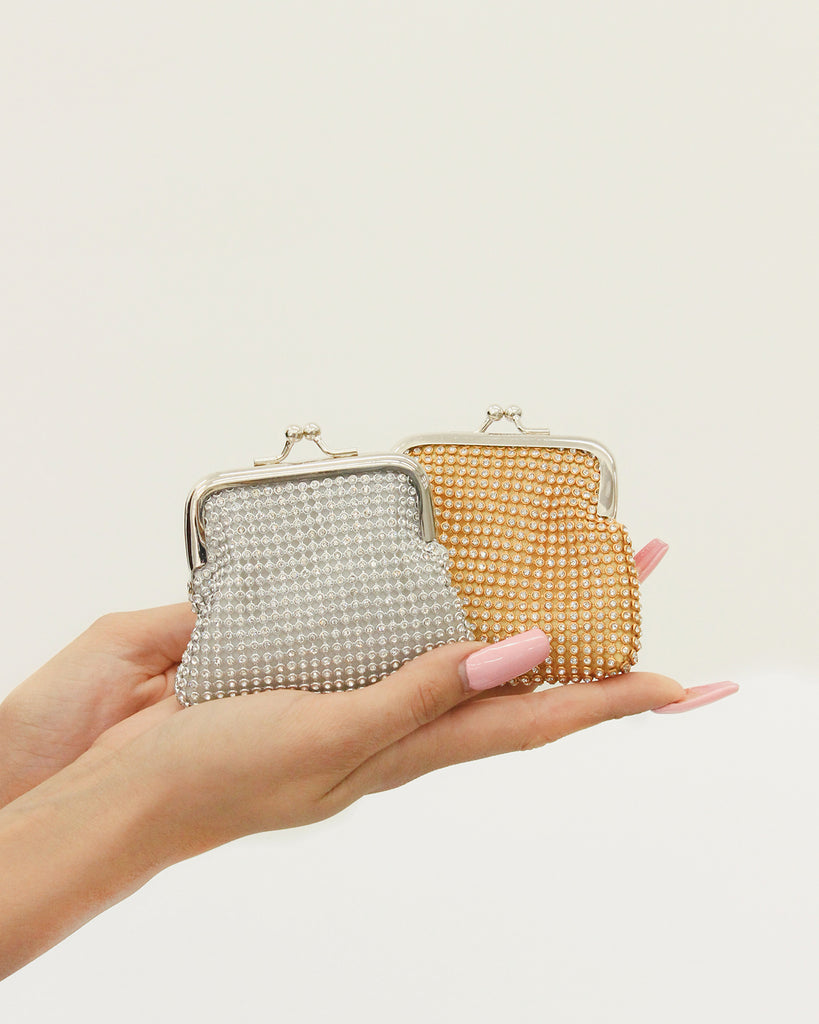 JEWELED COIN PURSE