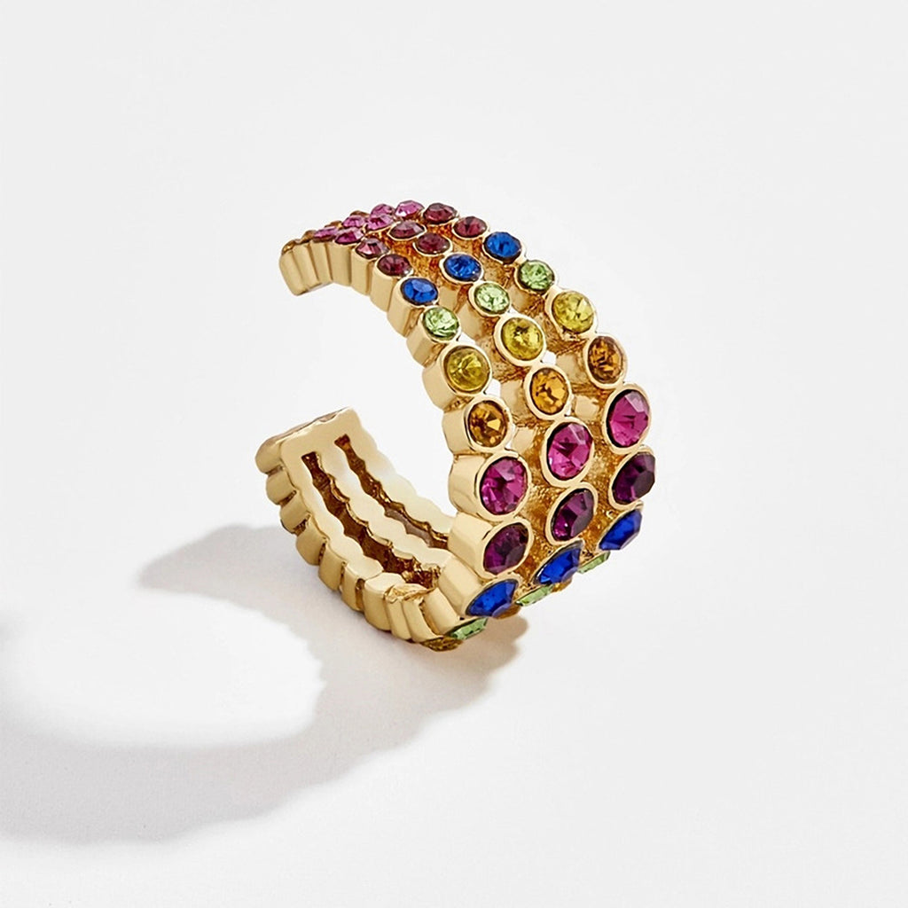 JEWELED CUFF MULTI