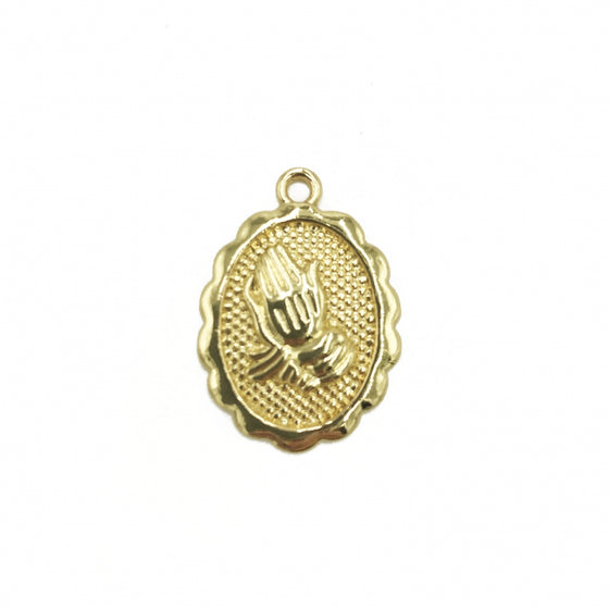 PRAYING HANDS PENDANT
