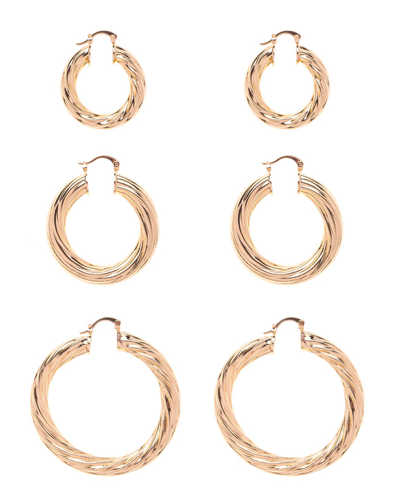 TWIST HOOP SET