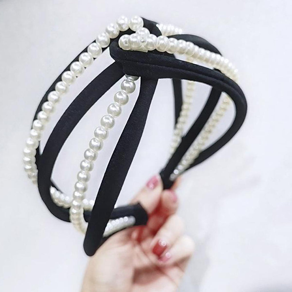 PEARL TWIST HEADBAND