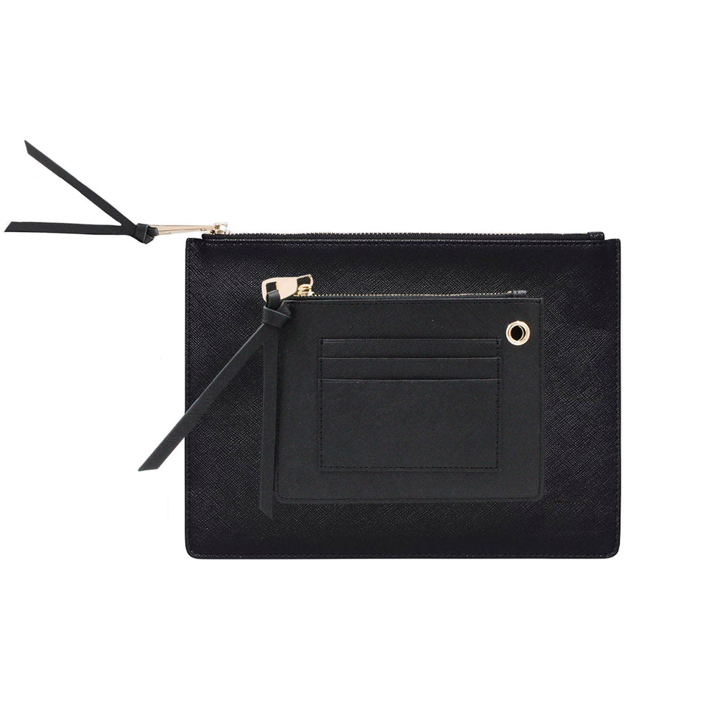 DUAL CONTRAST POUCH 8OR X JILL JACOBS BY TDE