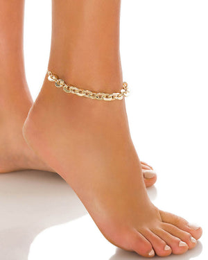 ROCK MY WORLD ANKLET
