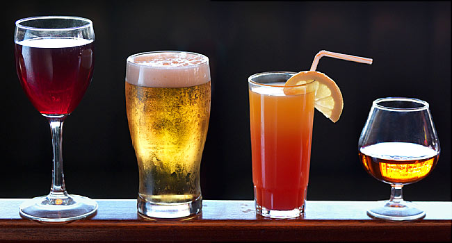 Drink Less Alcohol for Strong Bones