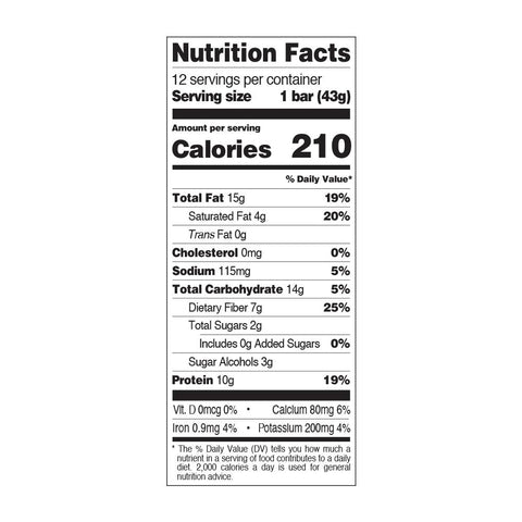 Quest Snack Bar Protein Cranberry Trail Mix Nutrition Label Facts