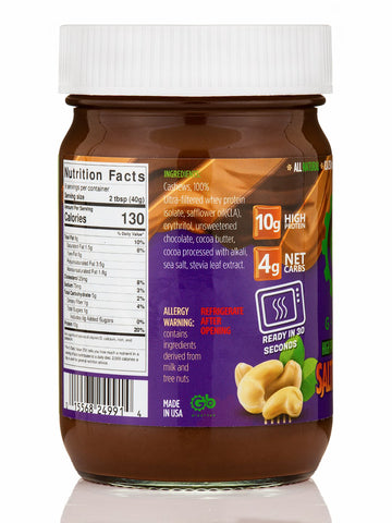 G Butter New Salted Caramel High Protein Nut Spread