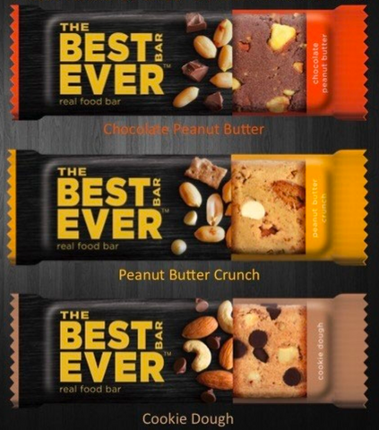 All New Best Bar Ever Protein bars are shelf stable