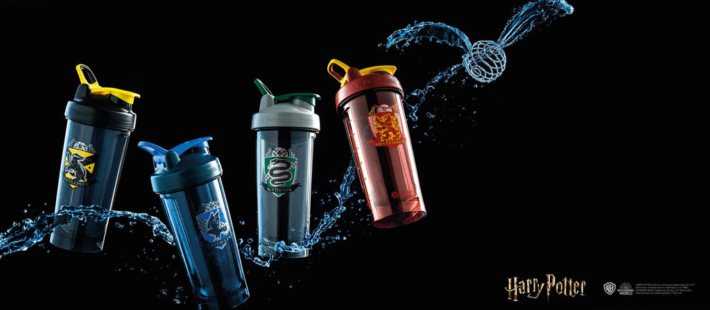 blender bottle Pro28 team harry potter hogwarts series gryffindor slytherin hufflepuff ravenclaw
