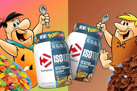 Dymatize iso 100 Fruity Cocoa Pebbles Cereal Protein Powder Post