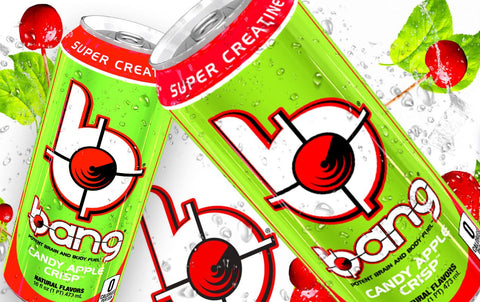 VPX Bang New Flavor Candy Apple Crisp Energy Drink Can