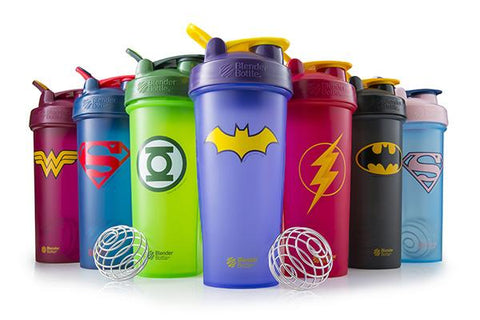 Blender Bottle 28oz DC Super Heroes Group