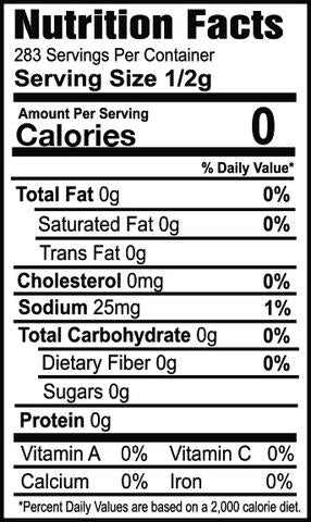 Oh my spice Everything Seasoning nutrition facts ingredients