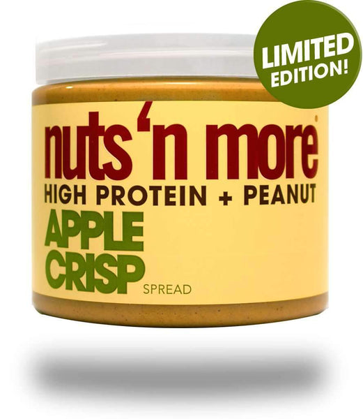 Nuts 'n more high protein + peanut apple crisp spread